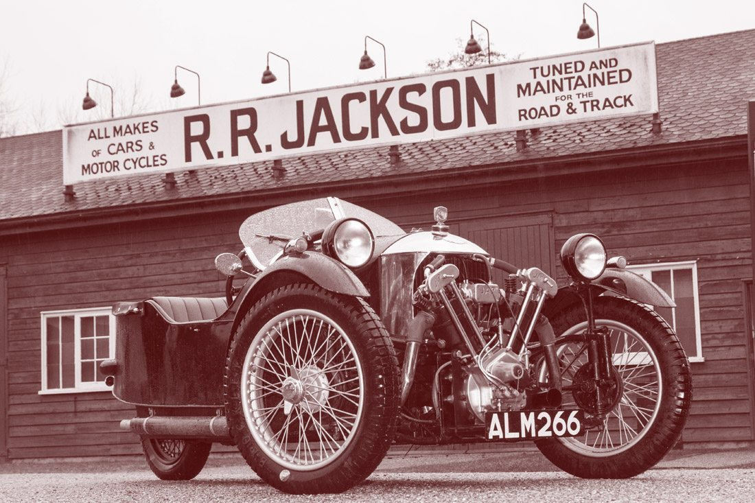 Morgan at Jacksons Works - Brooklands