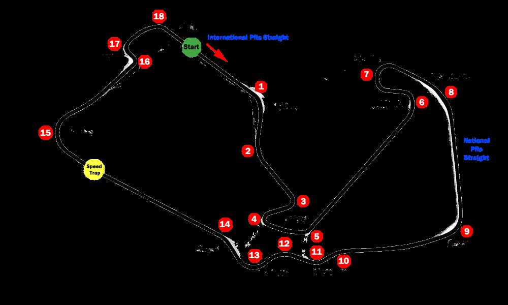 silverstone_circuit_map