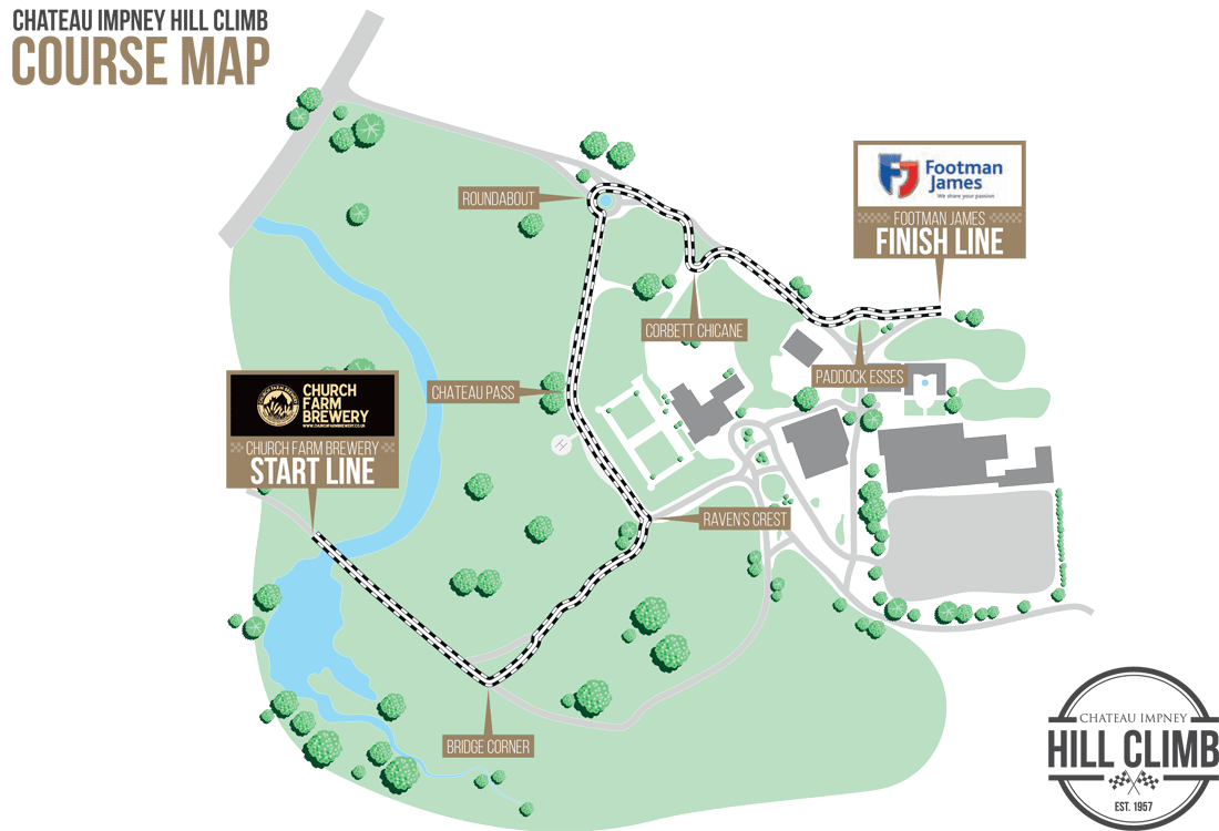 Chateau Impney hill-climb-course-map