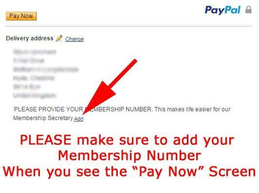 Renew Using PayPal