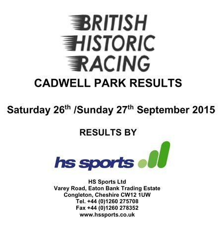 Cadwell September 2015 Results