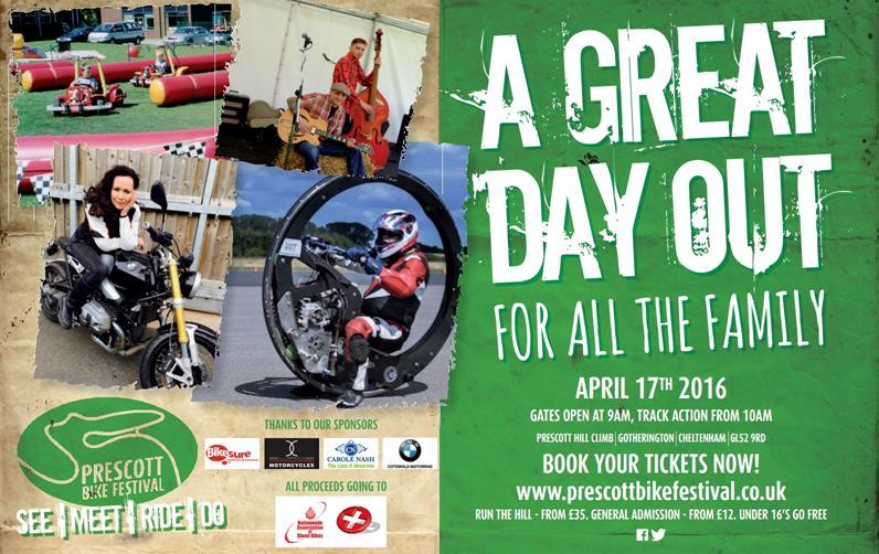 Prescott Bike Festival Flyer 2016
