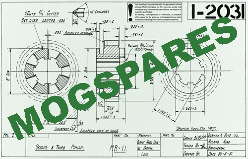 There's a new Mogspares Catalogue on the website