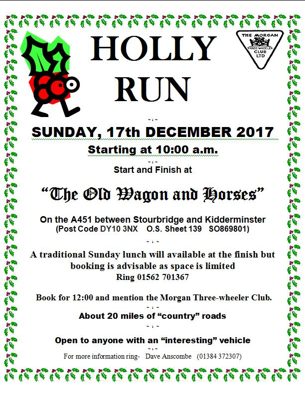 West Midlands Holly Run @ The Old Waggon and Horses | England | United Kingdom