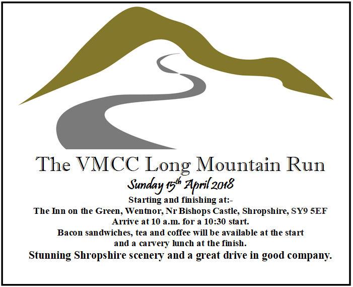 West Midlands VMCC Long Mountain Run @ The Inn on the Green | Wentnor | United Kingdom