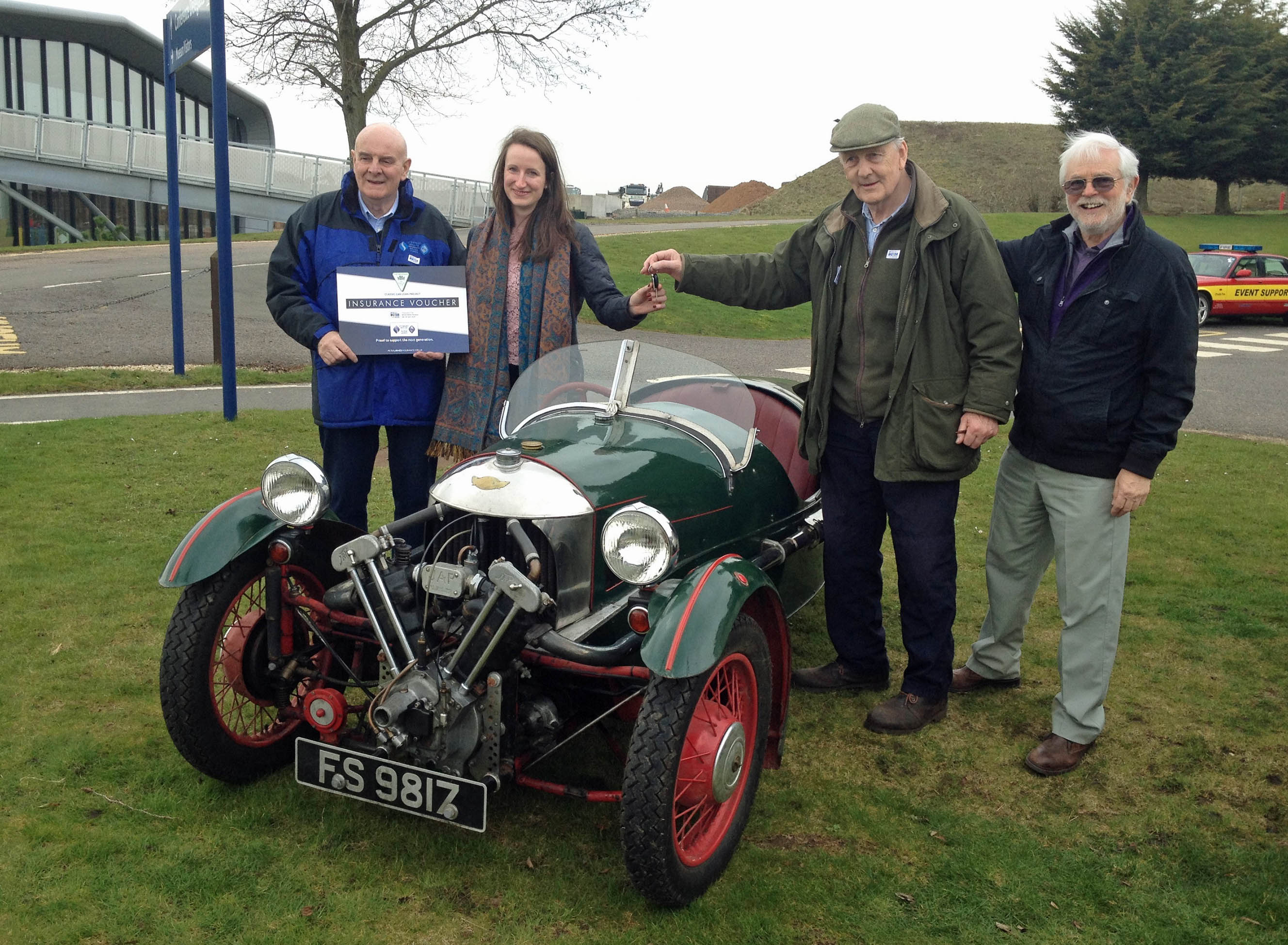 Classic Car Loan Scheme Takes Off – The Morgan Three Wheeler Club