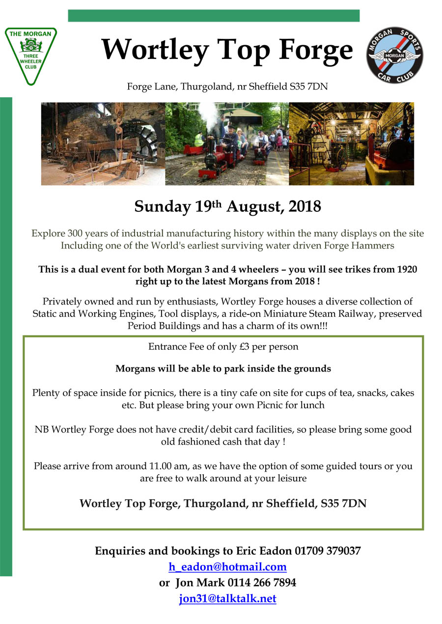 Visit to Wortley Top Forge @ Wortley Top Forge | United Kingdom