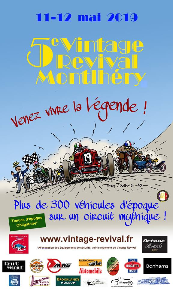Montlhéry Vintage Revival @ Autodrome de Linas-Montlhéry | Linas | Île-de-France | France