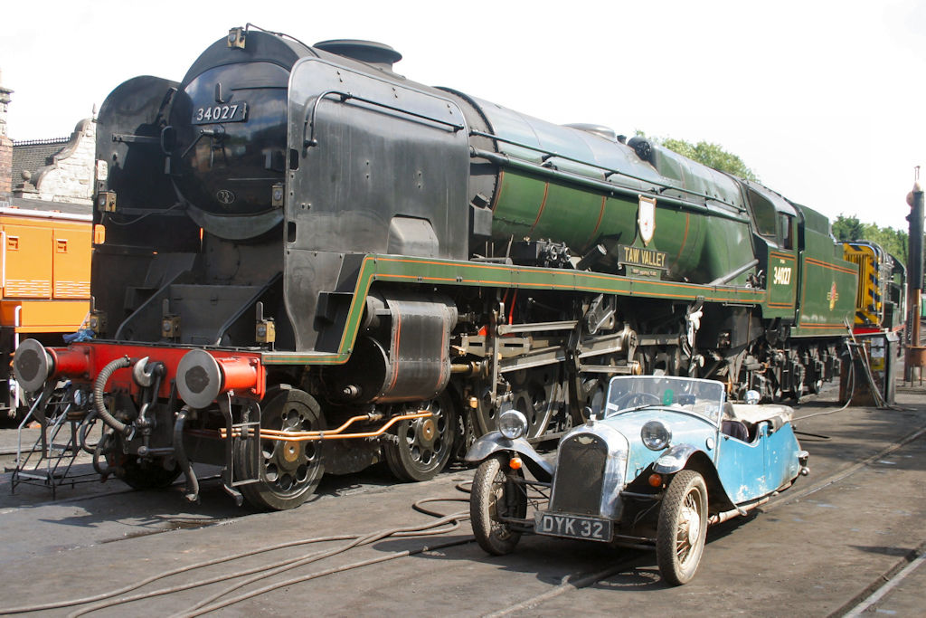 Opening Run - Severn Valley Railway