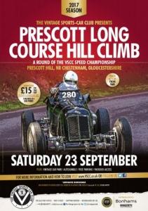 VSCC Prescott Long Course - 23rd September 2017