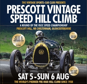 VSCC Prescott Speed Hillclimb 5th/6th August