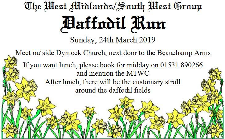 2019 Daffodil Run @ Dymock Church