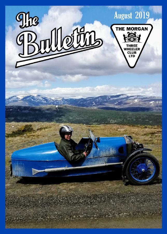 Bulletin Cover August 2019