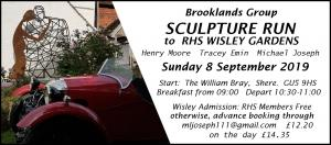 Sculpture Run Poster 8 9 19