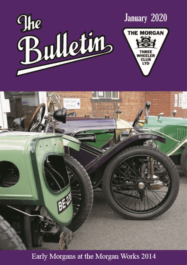 Bulletin cover January 2020