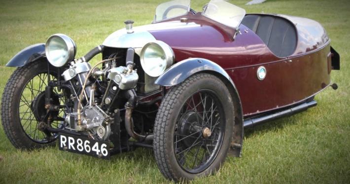 IMG 3464 Adrian Murray Leslies Blackburne KMC engined 1928 Super Aero at Cadwell Park 07 06 2015 3