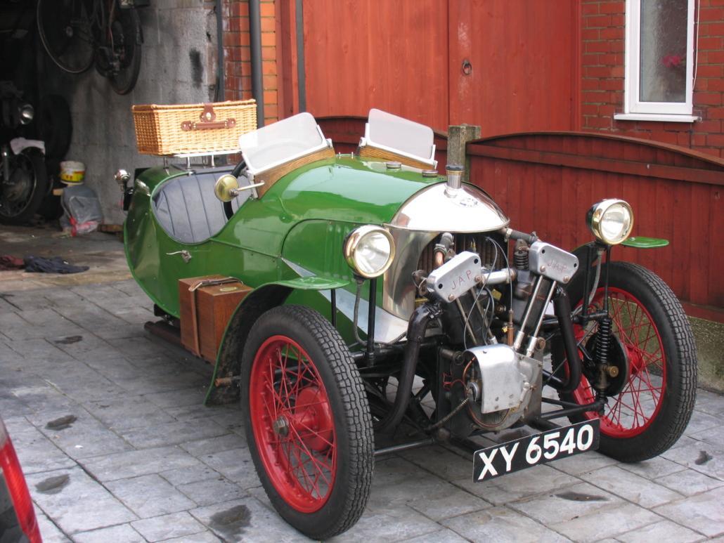 XY 6540 1925 Aero Morgan from Alan Ratcliffe