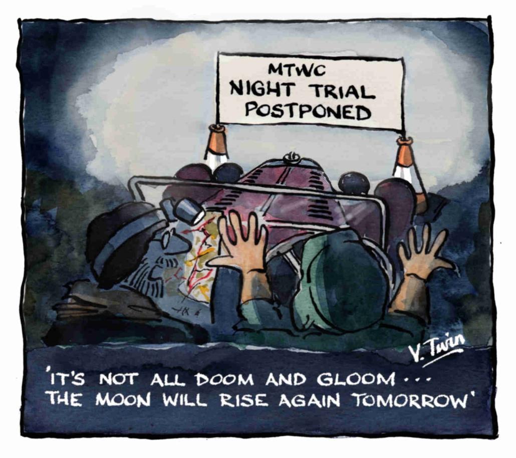 Night Trial cartoon